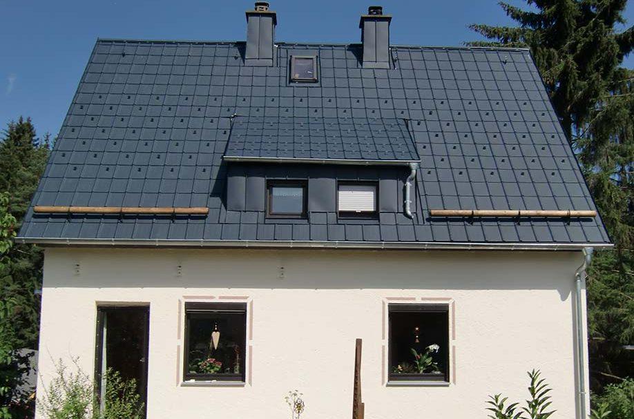 Prefa Dachplatten und Aufsparrendämmung