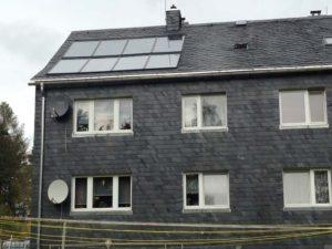 Solaranlage Warmwasseranlage